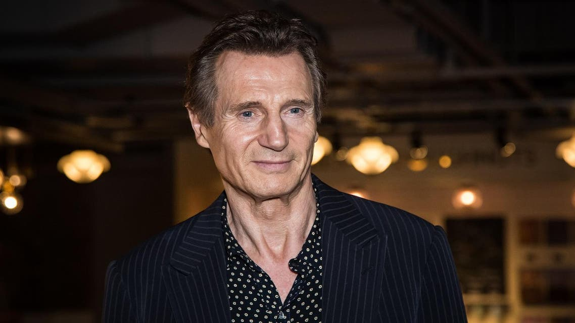 Actor Liam Neeson poses for photographers upon arrival at the premiere of the film 'Hunt For The Wilderpeople' in London, Tuesday, Sept. 13, 2016. (Photo by Vianney Le Caer/Invision/AP)
