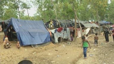 العنف يهجر 313 ألفا من مسلمي الروهينغا