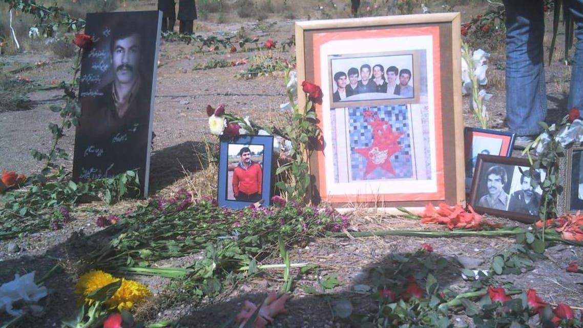 گورستان خاوران محل خاکسپاری دستجمعی قربانیان اعدامهای سال 67
