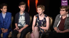 EXCLUSIVE: Interview with cast of 'It' as horror flick smashes box office records