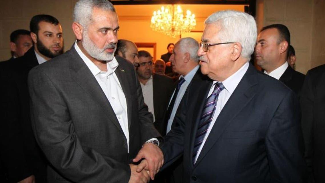 الرئيس الفلسطيني ورئيس حركة حماس
