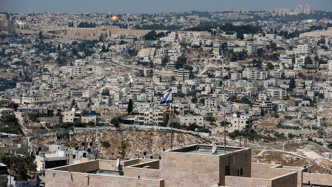 Human Rights Watch says the banks have helped the expansion of the West Bank settlements, which are now home to some 400,000 Israelis. (AFP)