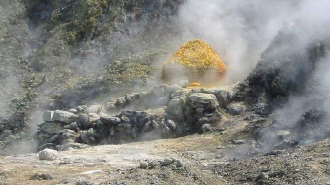 منطقة بركانية في إيطاليا