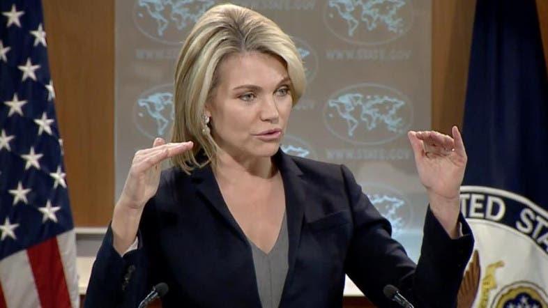 الناطقة باسم وزارة الخارجية الأمريكية هيذر نويرت