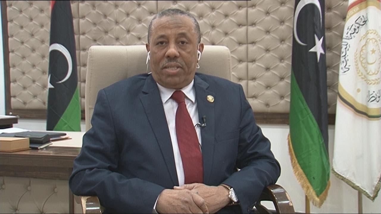 عبدالله الثني رئيس الحكومة الليبية المؤقتة