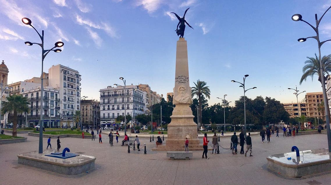 Monument to Sidi Brahim in Place du 1er November, in  Oran, Algeria, where the major square and tourist attraction where the theatre and town hall are located. (Shutterstock)