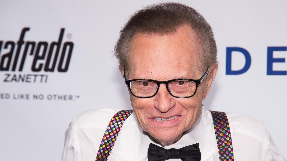 Larry King is an American television and radio host who has conducted over 60,000 interviews over his career. (File photo: AP)