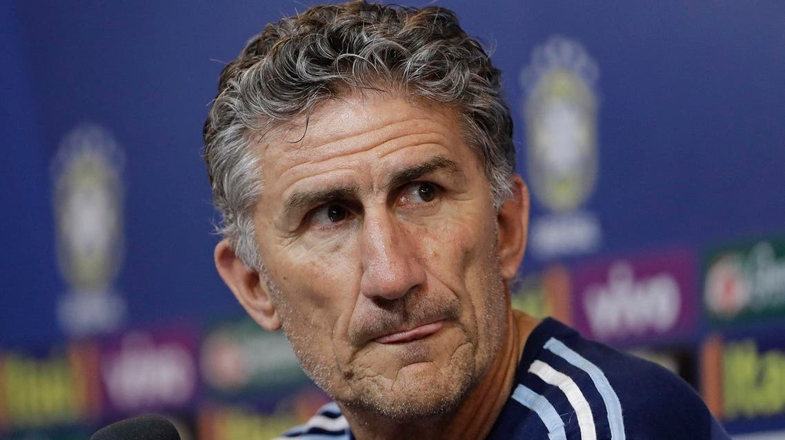 Bauza earned his coaching stripes in South American club football where he won the Copa Libertadores with two clubs. (AP)