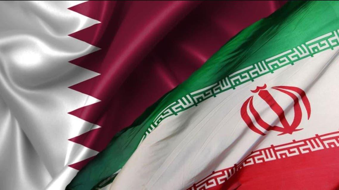 التعاون الإيراني القطري - قطر و إيران - أعلام 3