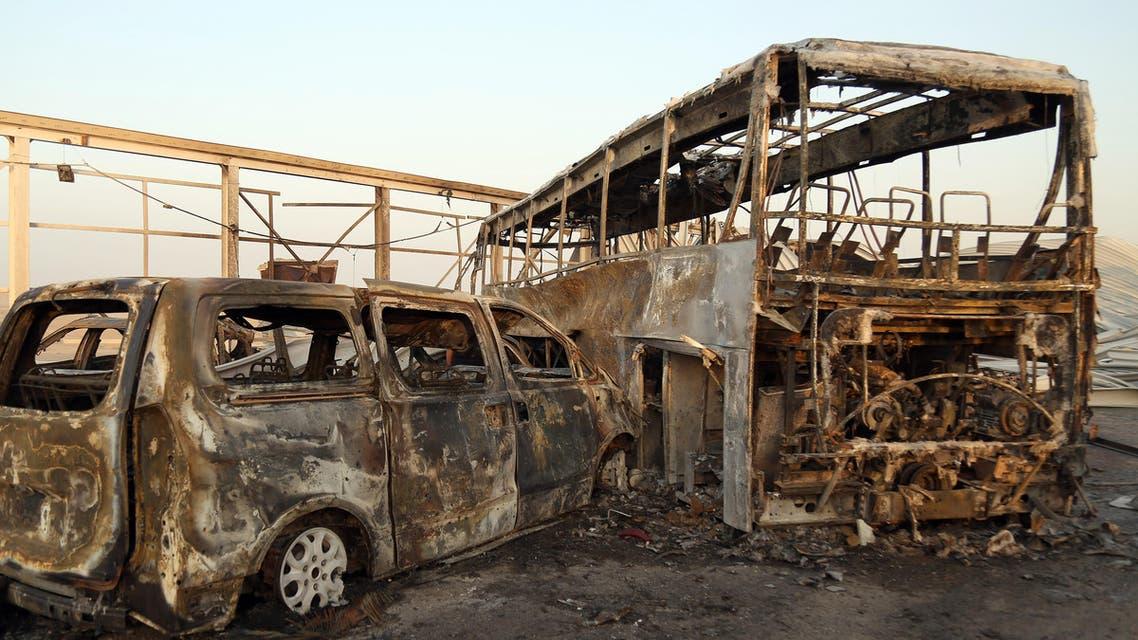 جنوب العراق قرب الناصرية هجوم داعش
