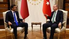 امیر قطر کی ترک صدر طیب ایردوآن سے ملاقات