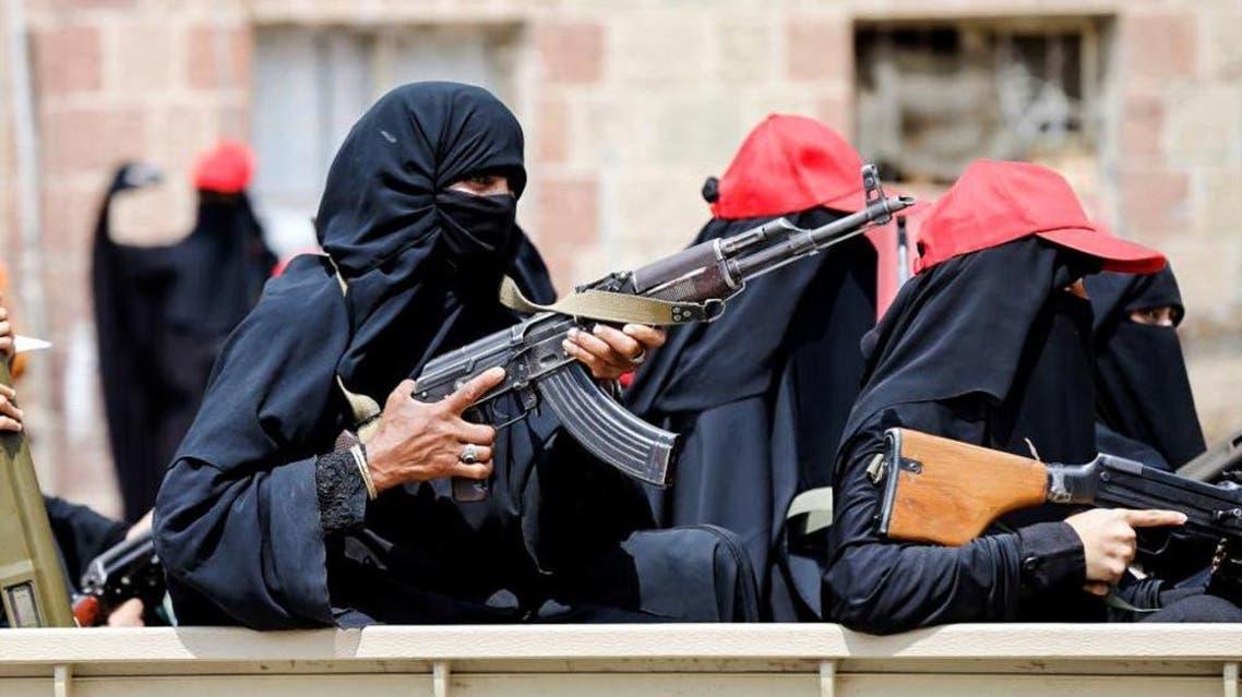النساء الحوثيات