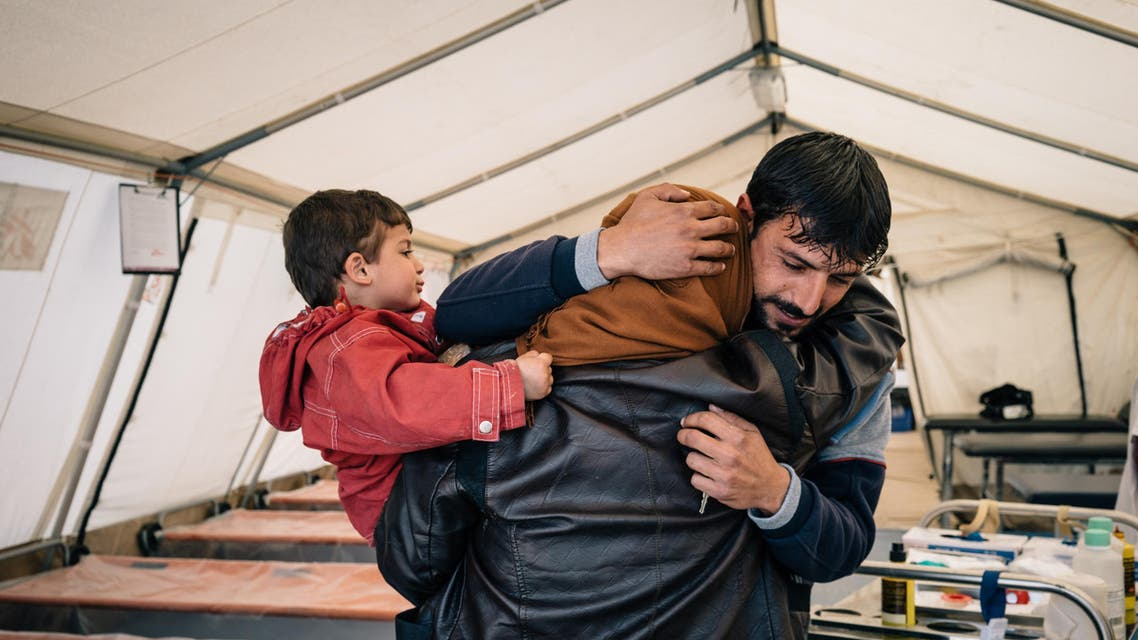 family in mosul
