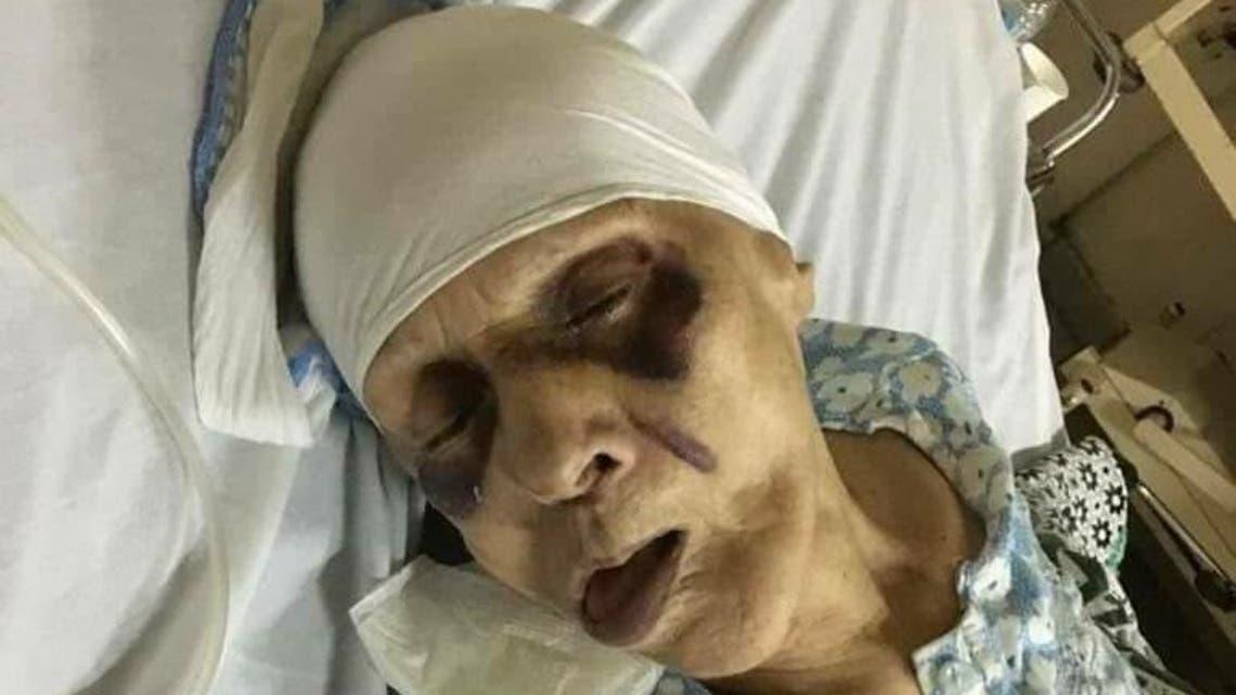 مأساة مسنة مصرية عذبها ابنها إرضاء لزوجته