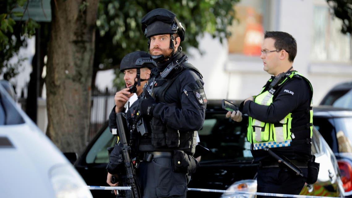 الشرطة البريطانية مترو لندن