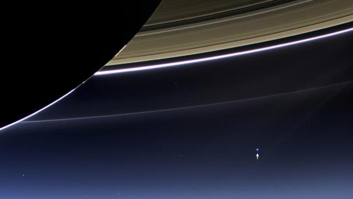 Cassini's close-up of Saturn