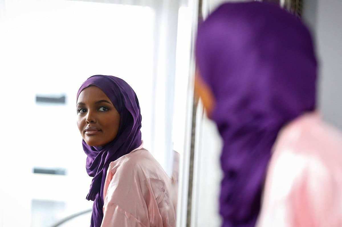 Halima Aden is breaking boundaries as the first hijab wearing model gracing magazine covers and walking in high profile runway shows. (Reuters)