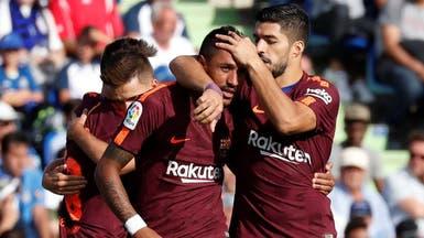 باولينيو يمنح برشلونة نقاط خيتافي