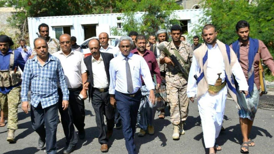وزير المياه اليمني في تعز