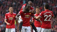 United thrash Rooney's Everton with late flurry of goals