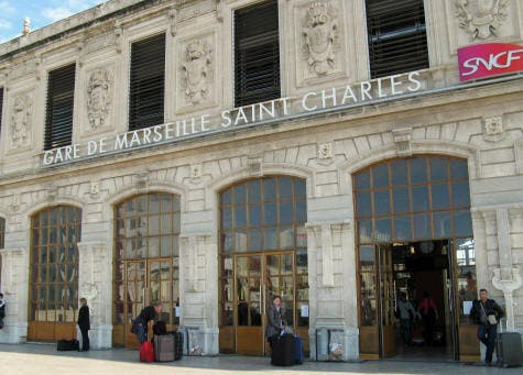 محطة سان شارل في مرساي
