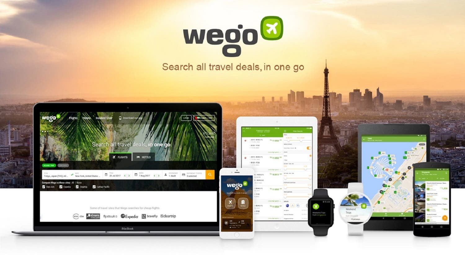 Wego has over 10 million monthly visits by collaborating with over 700 local and global airlines, hotels and online travel agents. (Supplied)