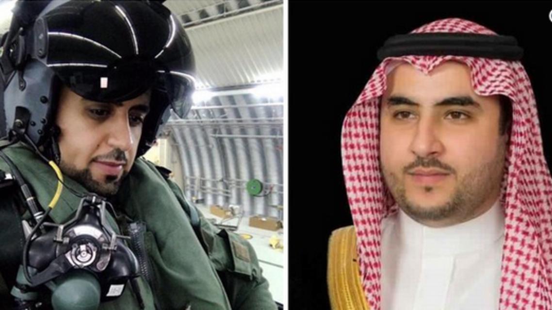خالد بن سلطان ومهنا البيز