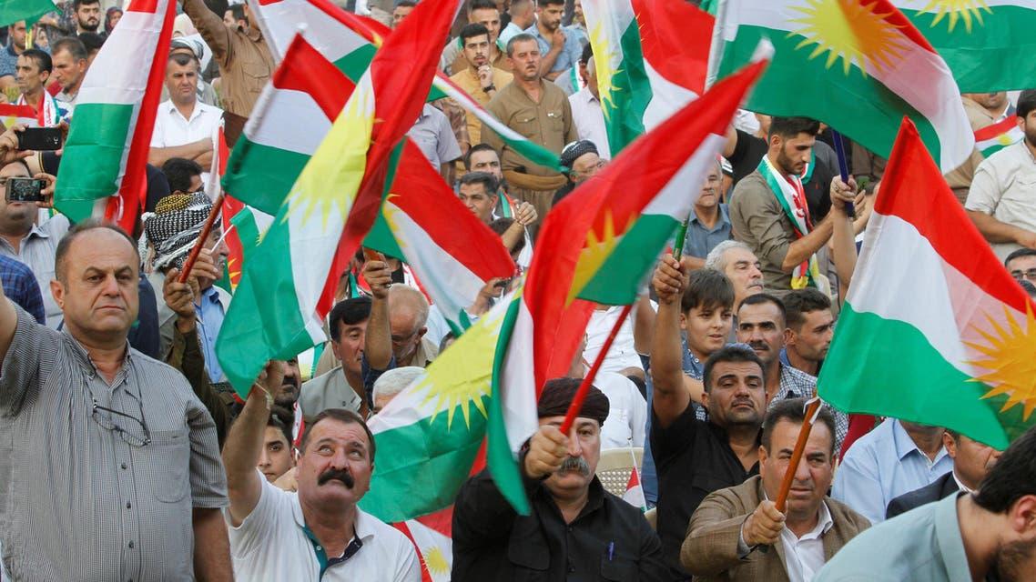 احتفالاً باستفتاء كردستان المزمع عقده في 25 سبتمبر