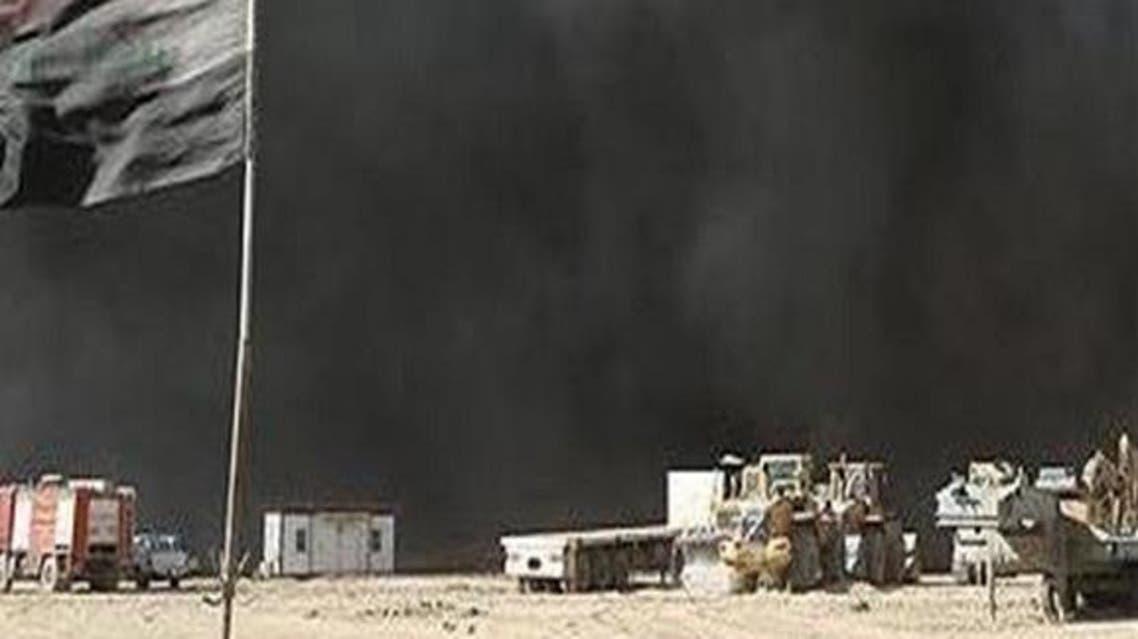 انفجار مدرسة مفخخة بالموصل