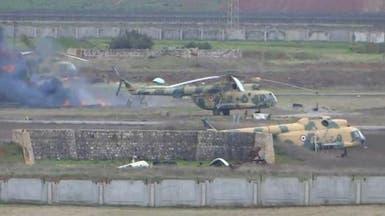 دواعش دخلوا مطار دير الزور بسيارة مصفحة للنظام السوري!
