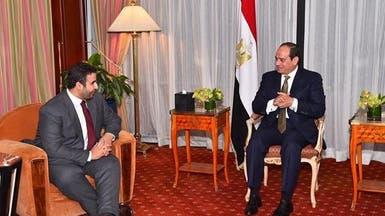 السيسي وسفير السعودية بواشنطن يؤكدان على تعزيز التعاون