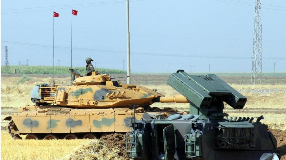 Reuters Staff  4 Min Read  A Turkish soldier on a tank is seen during a military exercise near the Turkish-Iraqi border in Silopi, Turkey, September 19, 2017. (Reuters)