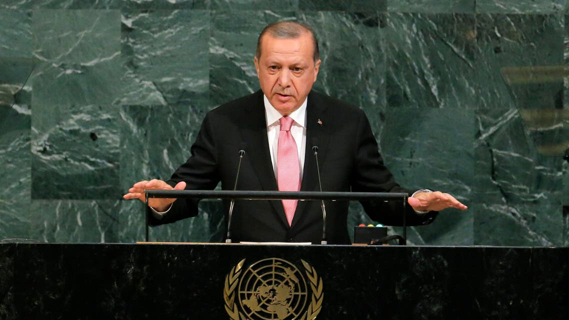 أردوغان الأمم المتحدة نيويورك