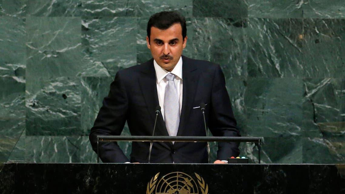 أمير قطر الأمم المتحدة نيويورك