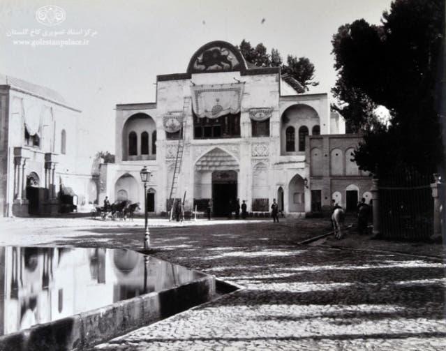مدخل قصر جولستان