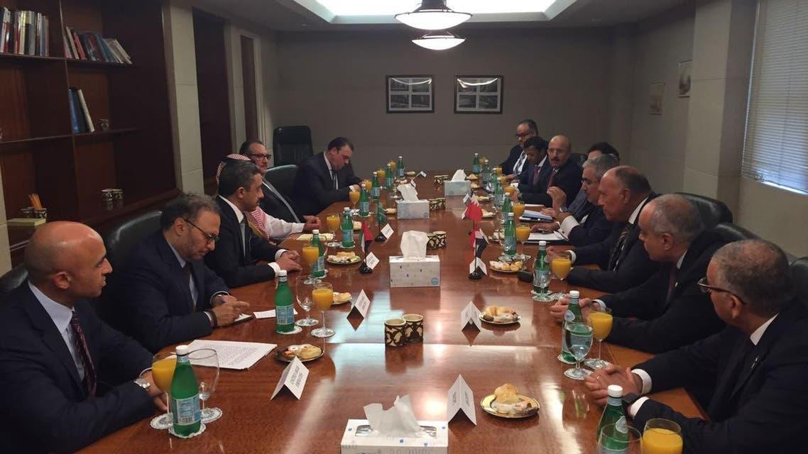وزراء خارجية الرباعي العربي في نيويورك