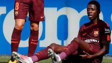 Barca coach Valverde blames Dembele inexperience for injury