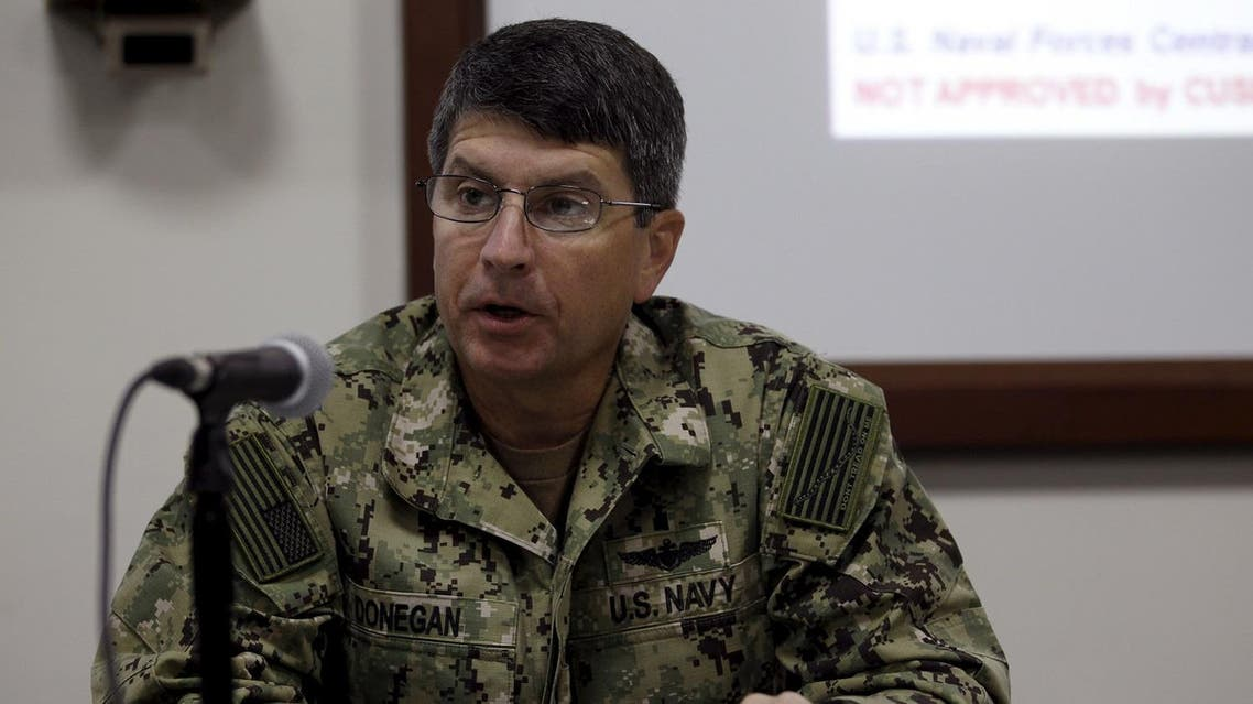 Vice Adm. Kevin Donegan, commander, U.S. Naval Forces Central Command. Reuters
