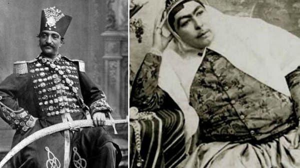 ناصر الدين شاه وزوجته المفضلة أنيس الدولة