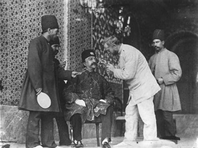 ناصر الدين شاه ومصوره الروسي أنتون سهفوريوغين