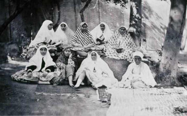 زوجات ناصر الدين شاه