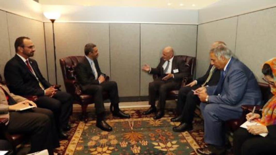 استراتیژی جدید امریکا محور بحث رییسجمهوری افغانستان با وزیر خارجه امارات متحده عرب