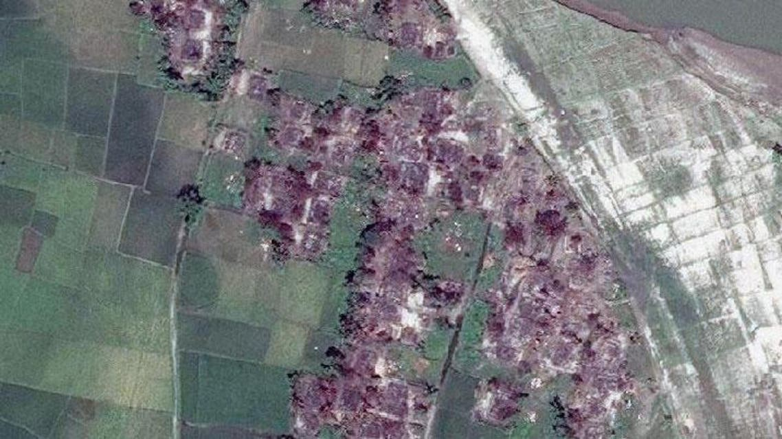 Before and after: satellite images of Tula Toli