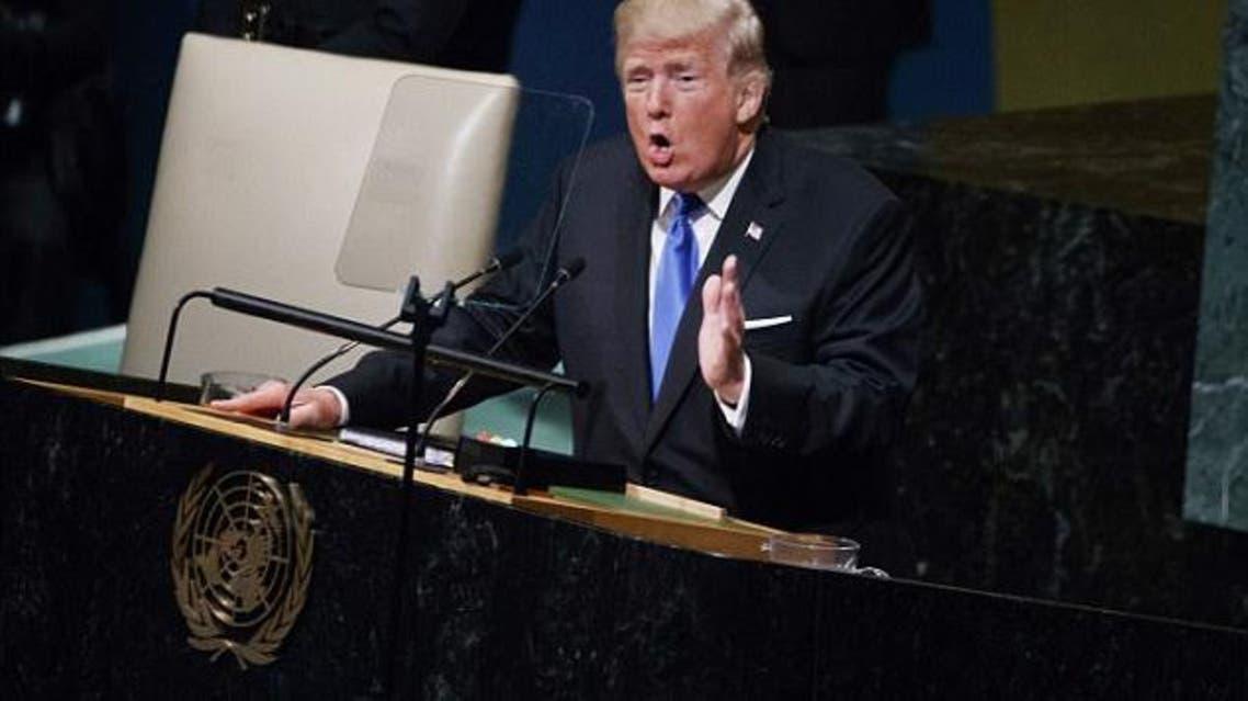 ترمب يلقي خطابه الاثنين أمام الجمعية العامة للأمم المتحدة