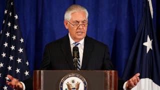 تيلرسون: العمليات الأميركية في سوريا بعيدة الإنتهاء