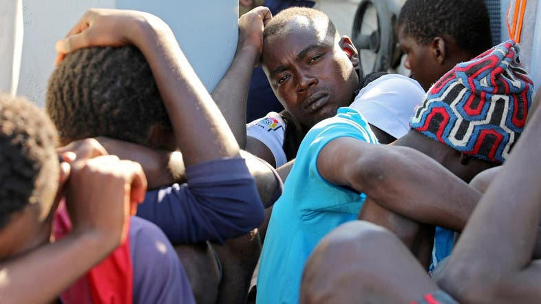 Shocking new video of migrants in Libya