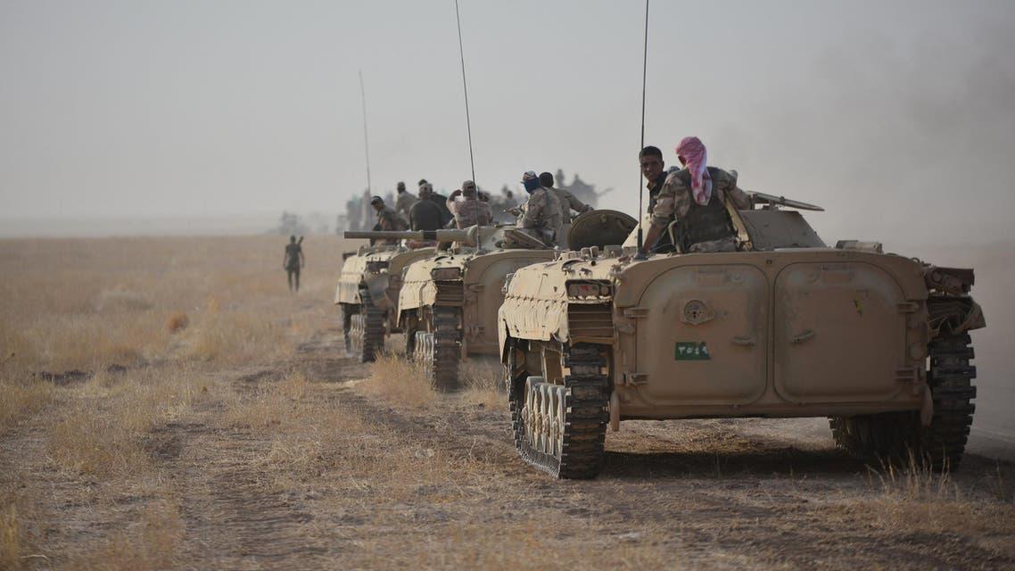 القوات العراقية في محيط الشرقاط