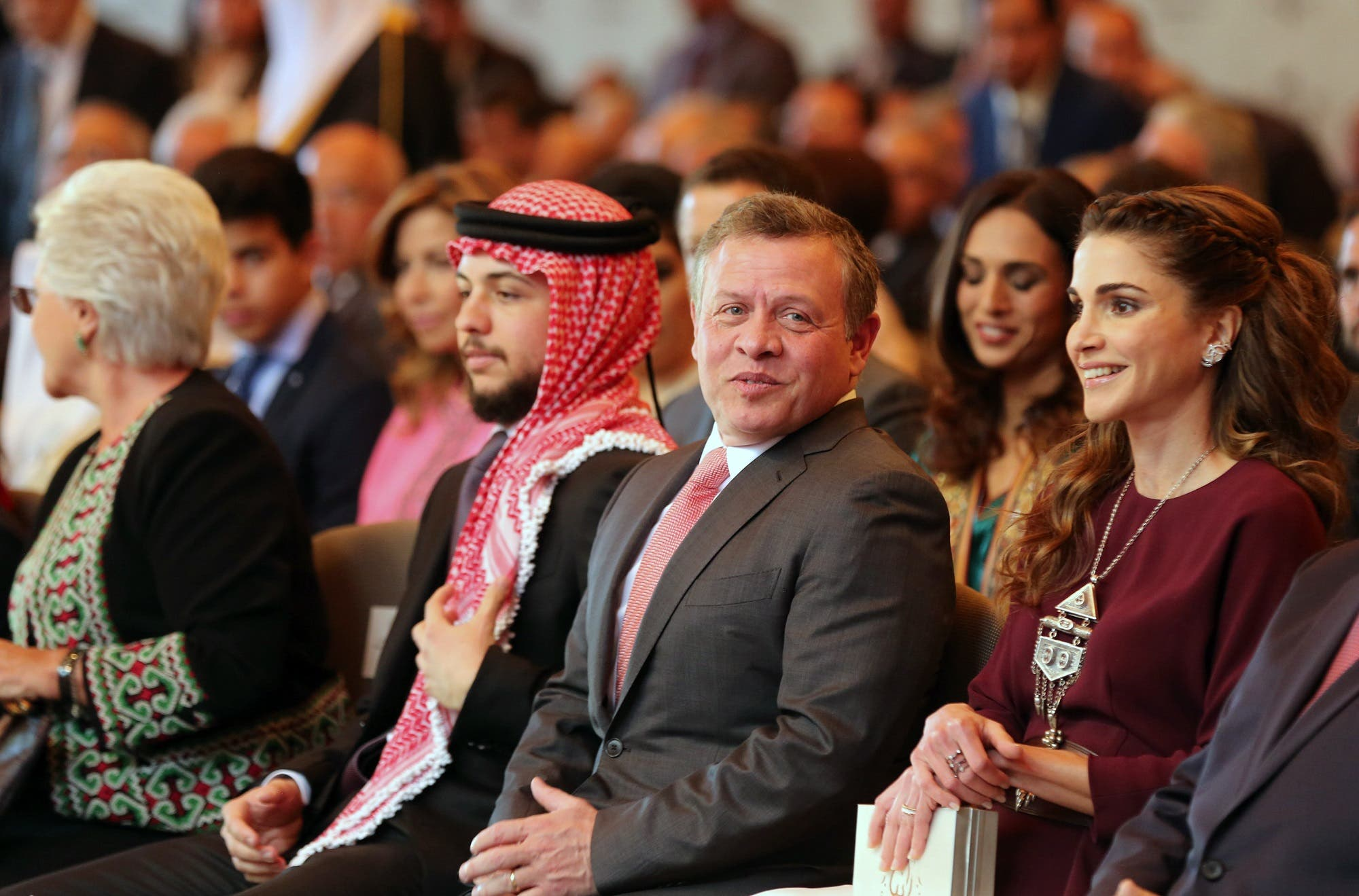 Jordan's young crown prince makes global debut in UN