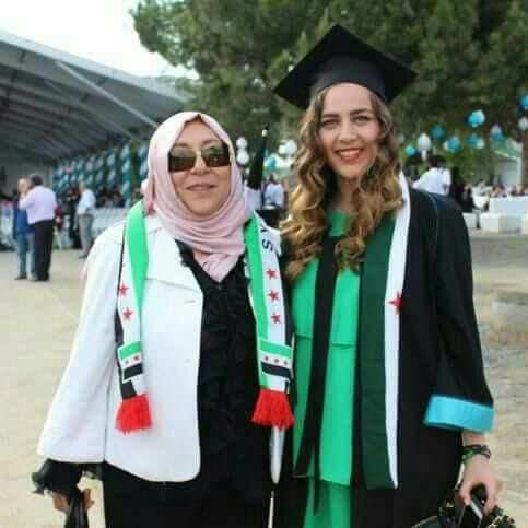 Orouba's sister Shaza accused the Syrian regime of killing her sister and niece. (Al Arabiya)