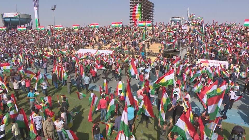 تظاهرة الجمعة في أربيل تأييداً للاستفتاء